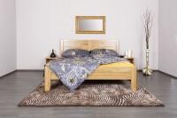 Celin K3 - tölgy vagy bükk tömör fa ágy