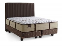 Estate - excluzív rugós matrac alappal + fa lábak