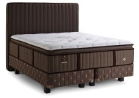 Lux Estate Plush -  luxus rugós matrac alappal + fa lábak