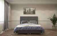 ATLANTA - Modern, elegáns  ágy magas fejvéggel