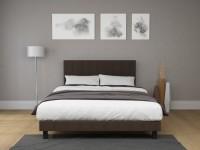 SEATTLE FRAME - Elegáns kárpitozott ágy magas fejvéggel