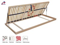 Duostar Kombi P - statikus, felnyitható ágyrács