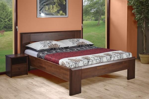 Corny -  tölgy vagy bükk tömör fa ágy