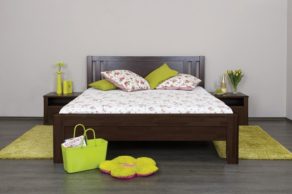 Celin K2 - tölgy vagy bükk tömör fa ágy
