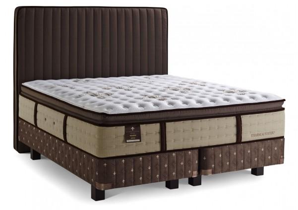 Estate Pillow Top - excluzív rugós matrac alappal + fa lábak