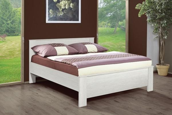 Marika  -  hagyományos dizájnú ágy - fehér werde