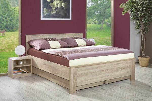 Marika  -  hagyományos dizájnú ágy -  dub creme