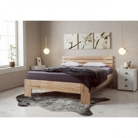 Tesa - tömör fa ágy egyedi fejvéggel